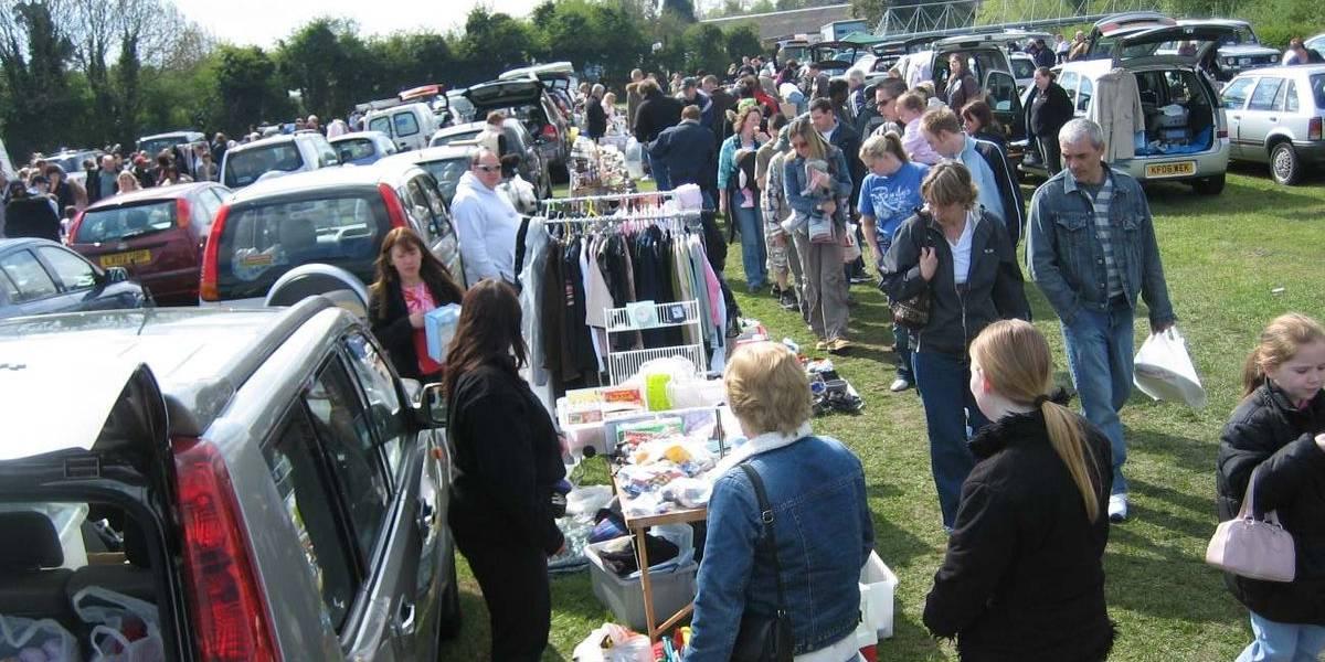 Car Boot Sale as a fundraiser